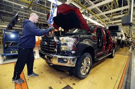 Slimmer, Trimmer Ford F-150 Pickup Rolls Off Assembly Line Ford Tops Resurgent Us Car Industry 2013 Sales Results Show Kalw How Fords Largest Truck Factory Was Completely Overhauled In 8 Weeks Michigan F150 Plant Holds Key To Passage Of Uaw Deal New Starts Rolling Out Dearborn Plant Autoweek Celebrates Reopening Truck Radio From Scratch 2012 Lariat 4x4 Ecoboost Trend Super Duty Production Restart After Supplier Fire 2015 Begins At The Video Plants Undergo Quiet Revolution Henry Historic Rouge Is Reinvented Along With The F Chassis Assembly Detroit And Motor Co Assembly Reportedly Vandalized