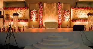 Wedding Reception Stage At Thodupuzha