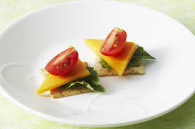 and easy canapes cheese canapes recipe