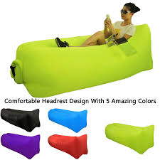 Tri Fold Lounge Chair by Camping Accessories Great Home Inflatable Lounger Sofa Air