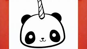 HOW TO DRAW A PANDA UNICORN