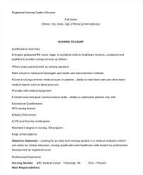 Nursing Student Resume Examples Read Writing A Concise Auto Technician Pre