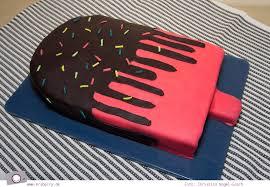 eis am stiel torte zum kindergeburtstag