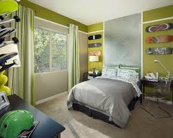 Soccer Themed Bedroom Photography by Cool And Cozy Boys Room Paint Ideas