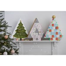 Wooden Christmas Tree Advent Calendar Hobbycraft Christmas Joy