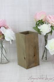 Tall Rustic Planter Box Wedding Centerpiece Vase Shabby Chic Barn Decor Country Item Number 130085