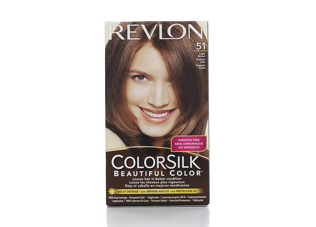 Revlon Colorsilk Beautiful Permanent Hair Color - 51 Light Brown