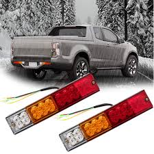 100 Truck Light Rack Amazoncom SGQCAR LED Trailer Bar RedAmberWhite Led 12v