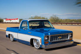 SLAMMED CHEVY C10 PICK UP TRUCK WITH AN LS3