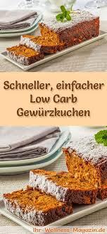schneller einfacher low carb gewürzkuchen rezept ohne