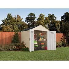 Rubbermaid Storage Shed Accessories Big Max by Rubbermaid 7x7 Feet X Large 325 Cubic Feet Outdoor Storage Shed