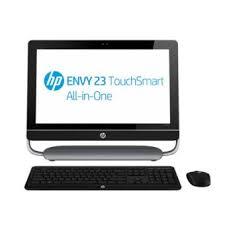 ordinateur de bureau tactile ordinateur de bureau tout en un hp envy touchsmart 23 d260ef 23