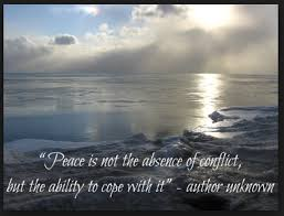 Finding Peace During A Difficult Week