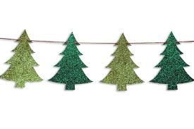 Decorate Christmas Tree Garland Beads by Christmas Tree Garland Christmas Tree Banner Holiday Banner
