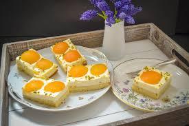 spiegeleikuchen rezept einfacher schmandkuchen vom blech