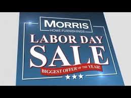 Morris Home Furnishings Labor Day Sale