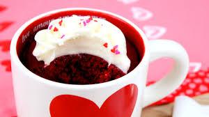 How to Make Red Velvet Mug Cake
