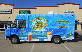 100 Food Truck Wraps Toadally Ice Zilla