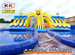 Water Slide For Inground Pool Inflatable Water Slide Used Pool Slide