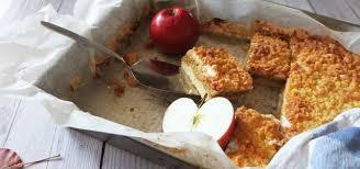 apfelmuskuchen vom blech ein rezept für den schnellen kuchen