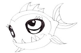 Monster High Pets Coloring Page Pages Neptuna The Piranha From