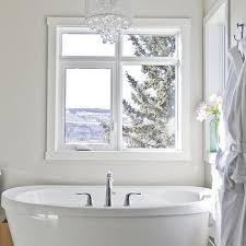chandelier over tub design ideas