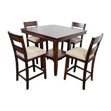 Macys Round Dining Room Sets by 66 Off Macy U0027s Macy U0027s Branton 5 Pc Counter Height Dining Set