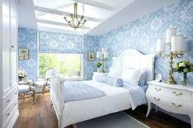 Homey Bedroom Decor Blue Decorating Ideas Light Wallpaper And Bedding Remarkable