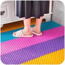 Big feet mosaic kitchen and bathroom mats non slip mats bathroom