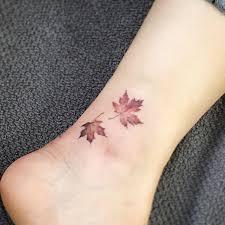Minimal Foot Tattoos 3