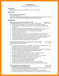 Mental Health Worker Resumes Clinical Social Work Resume Download Sample