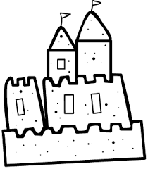 Sand Castle Drawing