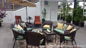 Kmart Jaclyn Smith Patio Cushions by Enhance Your Outdoor Space With Patio Furniture From Kmart
