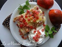 granatapfel pudding kuchen vom blech le monde de jacey