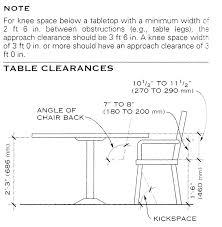 standard dining room table size amaze round sizes 12 cofisem co