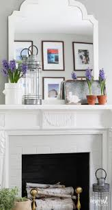 Welcome Spring With A Nature Inspired Mantel
