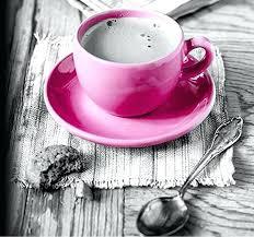Pink Coffee Cup Keurig Maker