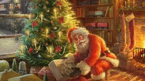 Thomas Kinkade Christmas Tree Train by Christmas Inspirations Santa U0027s Special Delivery By Thomas