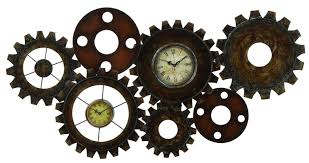 Wayfair Decorative Wall Clocks by Abchomecollection Steampunk Inspired Wall Clock Wayfair