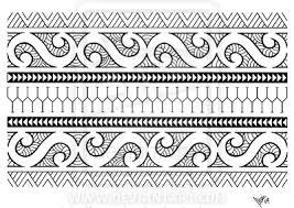 Polynesia Clipart Armband 10