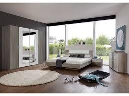 photo chambre chambre complète ginny coloris chêne montana et blanc vente de