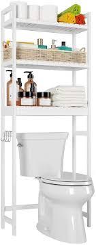 homfa toilettenregal weiß waschmaschinenregal überbauschrank