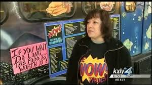 New Food Truck Hopes To WOW Your Tastebuds - KXLY Equipment Dealer Farmer Snap Up Fire Trucks At Spokane Fire 2012 Ncaa Womens Basketball Tournament Kingston Bracket Preview Sheriff Releases Statement Regarding Controversial Video Kxly Video Game Truck Rental National Event Pros 1954 Willys In Wa Page 2 Old Forum Arena Concerts And Events Washington Valley Department Ladder 10 Trucks Pinterest Will Use Drones To Inspect Infrastructure Used For Sale Liquidators Coeur Dalene Living Magazine By Issuu Meet Local First Responders Tohatruck Event On Saturday