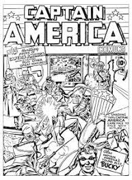 Coloring Adult Captain America Vs Hitler