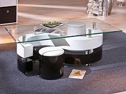 inter link 50100015 couchtisch glastisch wohnzimmertisch