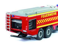 100 Fire Truck Red Mercedes Zetros 2733 German Fire Truck Red 2109