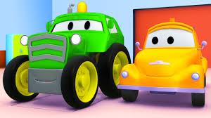 Tom La Dépanneuse Et Le Tractor à Car City Voitures Et Camions