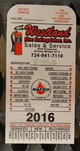 To Get Your Custom Extinguisher Inspection Tag Order Started Let Us Know