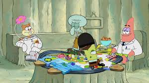 Synopsis Patrick And SpongeBob Play A Game