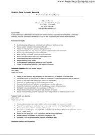 Hospice Nursing Resume Examples